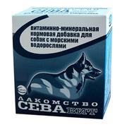 СеваВит витаминно-минеральная кормовая добавка для собак с морскими водорослями