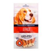 DeliPet лакомство для собак кальциевая косточка с курицей