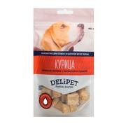 DeliPet лакомство для собак куриная печень с яблоком и тыквой