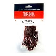 DeliPet лакомство для собак нарезка из говядины