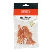 DeliPet лакомство для собак нарезка из индейки