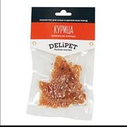 DeliPet лакомство для собак нарезка из курицы