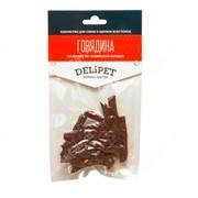 DeliPet лакомство для собак палочки из говяжьего сердца