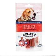 DeliPet лакомство для собак пастилки из перепелки