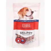 DeliPet лакомство для собак салямини из конины
