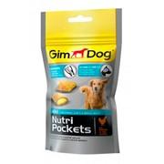 Gimpet Nutri Pockets Agile, подушечки с глюкозамином и витаминами группы В для собак