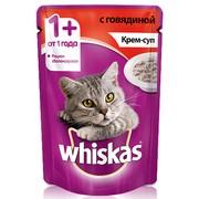 Whiskas консервы крем-суп с говядиной