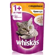 Whiskas консервы крем-суп с индейкой