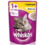 Whiskas консервы крем-суп с курицей