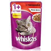 Whiskas консервы мини-филе говяд желе