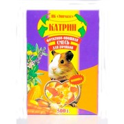 Катрин корм для хомяков фруктовая смесь