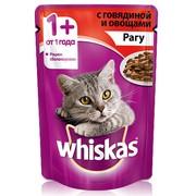 Whiskas консервы рагу говядина овощи