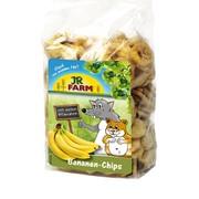 JR FARM лакомство для грызунов кусочки банана
