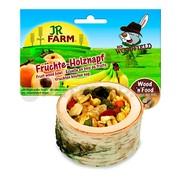 JR FARM лакомство для грызунов чаша деревянная с фруктами