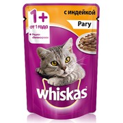 Whiskas консервы рагу индейка
