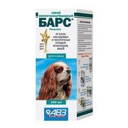 АВЗ Барс спрей для собак инсектоакарицидный 100мл