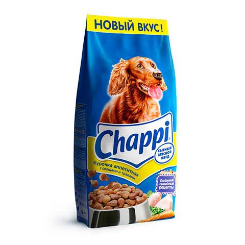 Chappi сухой корм курочка аппетитная