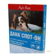 Дана Спот-Он капли для щенков и собак до 10кг