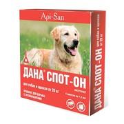 Дана Спот-Он капли на холку для собак и щенков от 20кг