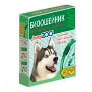 Доктор ZOO БИО зеленый ошейник для собак от блох и клещей 65см