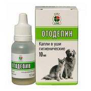 Отодепин ушные капли для собак и кошек с экстрактом хвои
