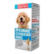 Празицид суспензия антигельминт для щенков средних и крупных пород 9мл на 20кг веса