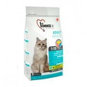 1ST CHOICE сухой корм для кошек здоровая кожа и шерсть лосось