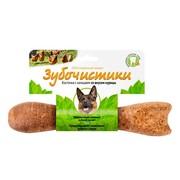 Зубочистики косточка для собак от 25кг с кальцием со вкусом курицы