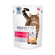 PERFECT FIT консервы для взрослых кошек с курицей