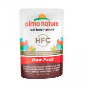 ALMO CLASSIC Raw Pack консервы для кошек 75% мяса куриное филе с ветчиной