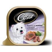 Консервы Cesar фрикасе из ягненка с овощами и розмарином