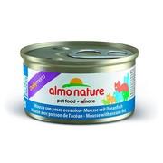 ALMO NATURE DAILYMENU консервы для кошек нежный мусс меню с океанической рыбой