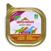 ALMO NATURE DAILYMENU консервы для собак паштет с телятиной и овощами