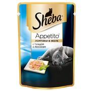 Консервы Sheba Appetito тунец лосось желе