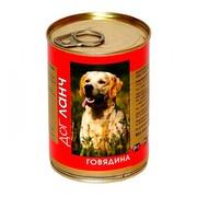 Dog Lunch консервы для собак говядина в желе