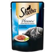 Консервы Sheba плежер тунец лосось
