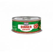 Solid Natura Dinner консервированный корм для котят телятина