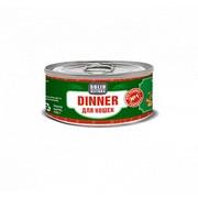 Solid Natura Dinner консервированный корм для кошек говядина