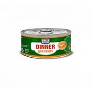 Solid Natura Dinner консервированный корм для кошек индейка