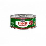 Solid Natura Dinner консервированный корм для кошек печень