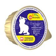 VitAnimals консервы для котят говядина