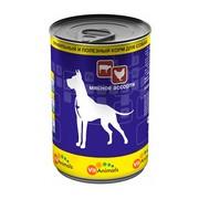 VitAnimals консервы для собак мясное ассорти