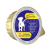 VitAnimals консервы для щенков говядина