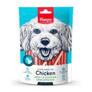 Wanpy Dog лакомство для собак курица с треской в форме сэндвича
