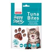 Beaphar лакомство для котят мягкие чипсы из тунца Happy Snack