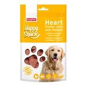 Beaphar лакомство для собак нежные сердечки из курицы и трески Happy Snack
