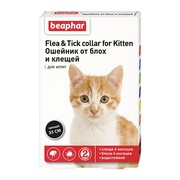Beaphar ошейник для котят от блох, 35см (диазинон)