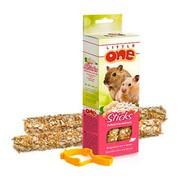 Little One палочки для хомяков, мышей и песчанок с воздушным рисом и орехами