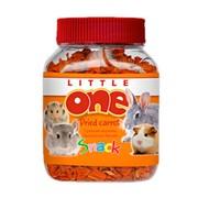 Little One сушеная морковь лакомство для всех видов грызунов