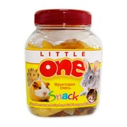 Little One фруктовая смесь лакомство для всех видов грызунов